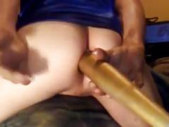 Big End Of A Baseball Bat In The Ass