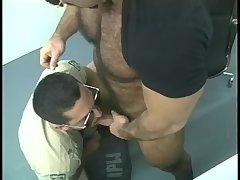 Naughty Cops Enjoy Blowjob
