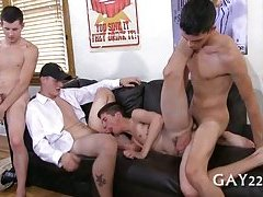 Gay forced to suck cock