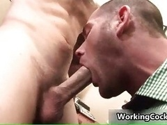 Cole streets having an intercourse and giving blowjob on office