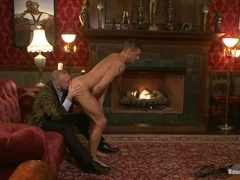Adam Knox gets his ass stunningly toyed by Josh West in BDSM scene