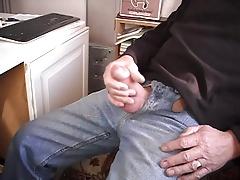 Having a Wank and cum