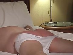 Tied Guy Gets Spanked