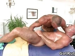 Nice guy gets amazing gay massage