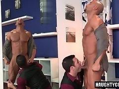 Big cock gay oral sex with cumshot