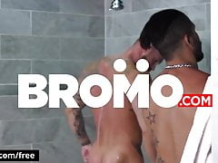 BROMO - Shower Breeders Scene 1 featuring Michael Roman and