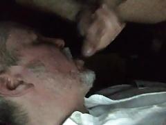Sucking a hot young man in a cruising cinema
