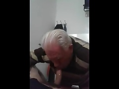 Grandpa blowjob series - 30