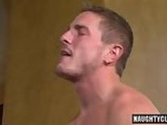 Big dick boy oral sex and cumshot