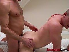 Mormon gets cum soaked