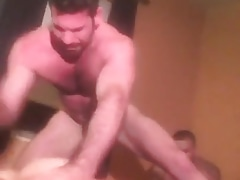 Billy Santoro bareback pounding