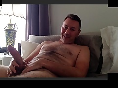 hung dad cums big