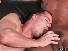 Alex gets his very first fat gay cock