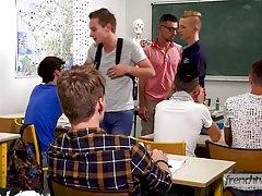 Teacher Doryann Marguet fuck student Paul Delay