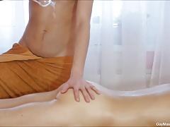 Hot Gay Massage Sensual Blowjob