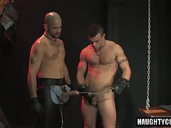 Hot gay fetish and cumshot