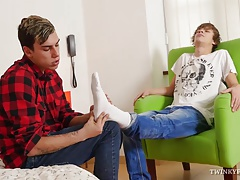 Twink Foot Fetish Boys Suck and Fuck