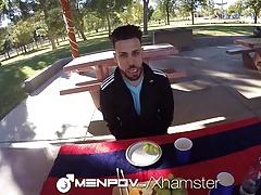MenPov - Mason Lear Manages 9 inch POV Scene
