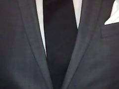 g(r)ay suit shoeplay