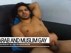 Arab gay Moroccan Hicham's gifts: beauty & splendid dick