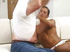 Big Jack Jerking Off His Sexy Admirer Chris