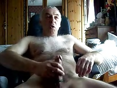 Old men masturbating