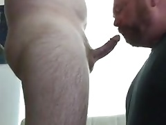 Daddy suck and swallow