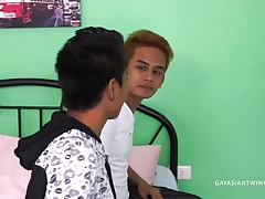 Asians Josh and Willy Fuck Bareback