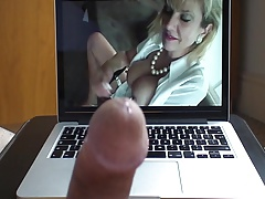 Lady Sonia JOI Over Her Big Tits - Creamy Cum Load!