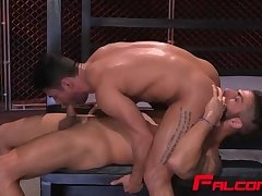 Adam and Bruno blowing each other throbbing cocks