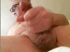 Mature man showing off for his students Part 2