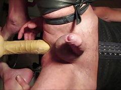 Crossdresser Balls Deep 13 inch Huge Dildo Prostate Milking
