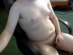 Chubby Jerk Off