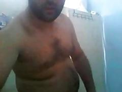 Bear in dressing room 31817