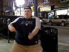 Fat Men Santa Dance