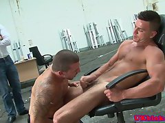 Dominant stud doggystyle fucking his lover