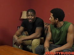 Horny thugs Shawn and Leon banging hard and blowing dick