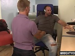 Hairy gay oral sex and cumshot