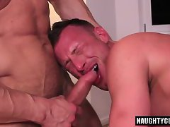 Latin gay flip flop and cumshot