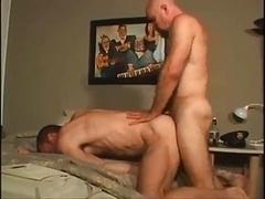 Meaty Homosexuals Bedroom Bang