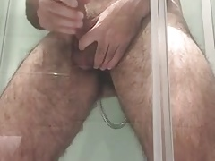 Many cums in the shower