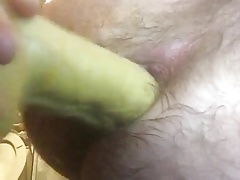 Dildoing fingering stretching my gaping asshole