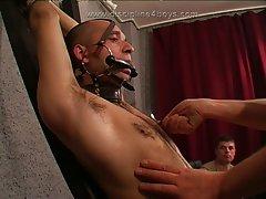 Discipline boys private show