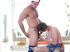 ManRoyale John Darling buries his dick in tight ass