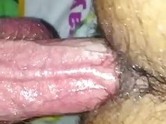 Daddy barebacks his Slut with big dick