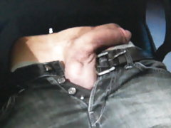 Massive soft cock getting hard on cam