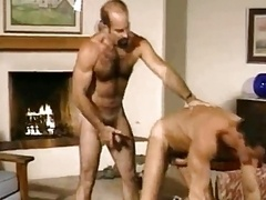 Moustache daddy Marco gets down and dirty hard with her BF