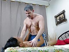 Daddy Barebacks Asian Boy Jordan