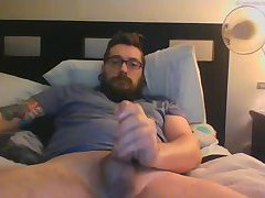 Furry thick cock stroker