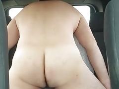 Car back seat humping